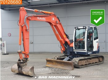 Kubota KX080-3 Bucket - all functions - minigravemaskine
