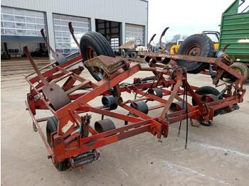 Kongskilde Hydraulic Folding Rake to suit 3 Point Linkage - høvender