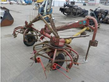 PTO Driven Hay Bob to suit 3 Point Linkage - høvender