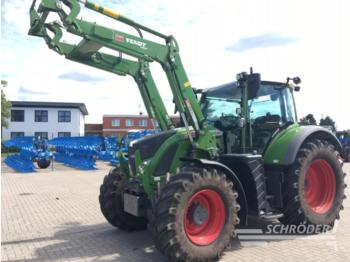 Fendt 714 vario s4 profi plus - landbrugs traktor
