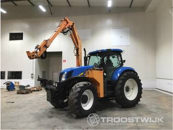 New Holland T7030 4WD SA - landbrugs traktor