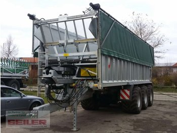 Fliegl ASW 391 TAURUS FOX 50m³ + Top Lift Light - landbrugsvogn