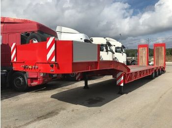 New /ARB Low Loader for heavy machinery/ - chassis sættevogn