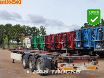 Containerbil/ veksellad sættevogn Krone SDC 27 3 axles 2x 20ft 1x 30ft 1x40Ft Liftachse