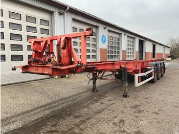 Containerbil/ veksellad sættevogn LAG 30' tipchassis