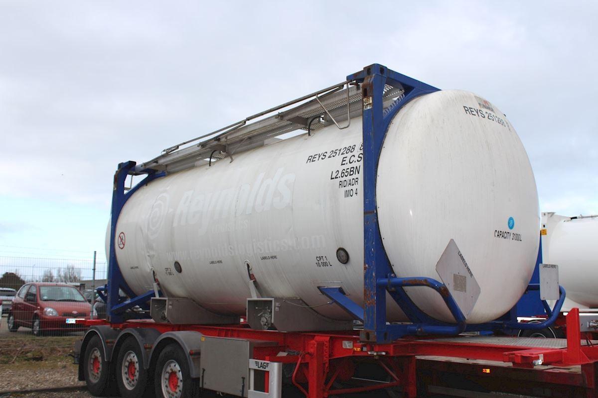 tankbil sættevogn Magyar Tankcontainer