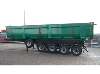 Tipvogn sættevogn Mitra 4 AXLE NEW HEAVY DUTY TIPPER TRAILER