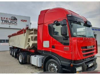 Trækker IVECO Stralis 450, Steel/Air, Manual, CURSOR 10, Tipper Hydraulic
