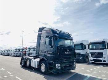 Iveco Stralis 480 TX/P 6x2, double sleeper  - trækker