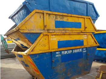 12 Yard Skip to suit Skip Loader Lorry (3 of) - liftdumpercontainer