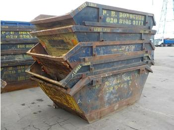 6 Yard Skips to suit Skip Lorry (5 of) - liftdumpercontainer