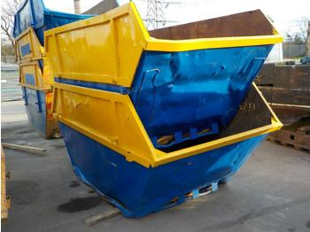 8 Yard Skip to suit Skip Loader Lorry (2 of) - liftdumpercontainer